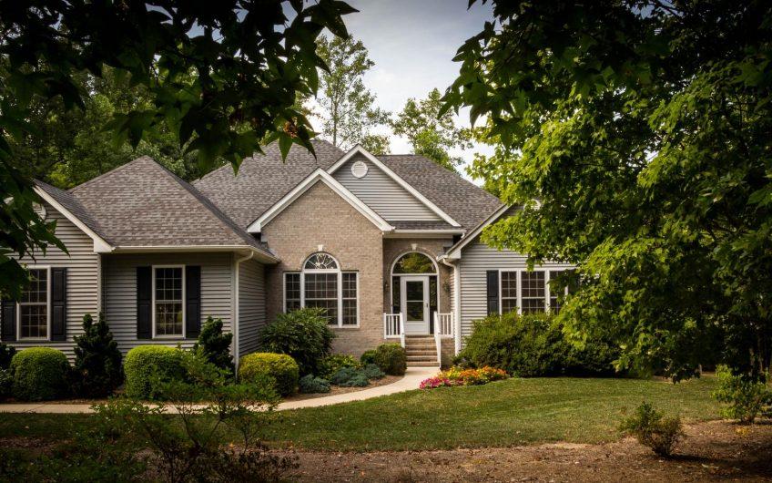 Comfortable suburban house